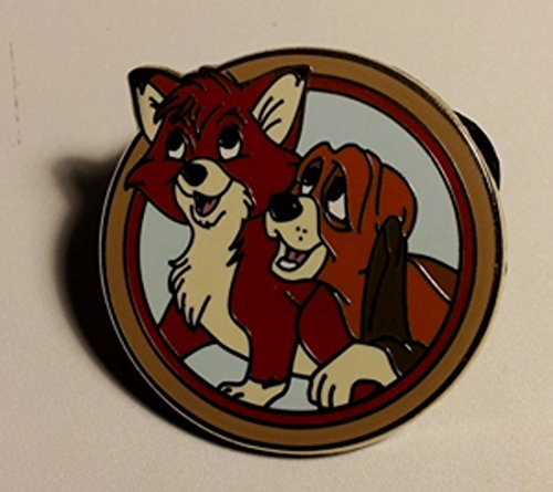 Authentic Disney Pin 90186: Disney's Best Friends - Mystery Pack - Tod and Copper Only Pin Fox and the Hound