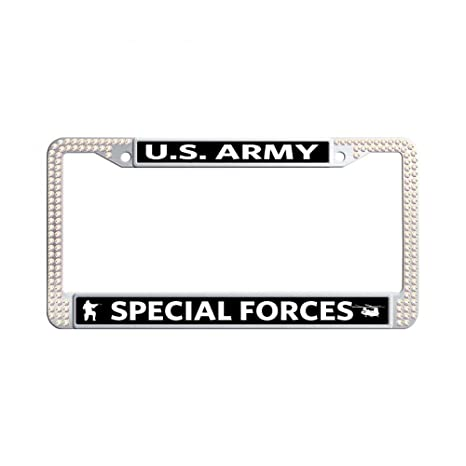 Amazon.com: License Plate Frame Bling Personalized License Plate ...