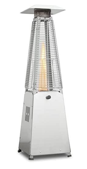 Firefly 4KW Stainless Steel Paros Table Top Outdoor Gas Patio Heater  sc 1 st  Amazon UK & Firefly 4KW Stainless Steel Paros Table Top Outdoor Gas Patio Heater ...
