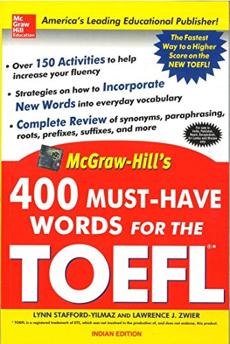 400 Must-Have Words for the TOEFL 1ED