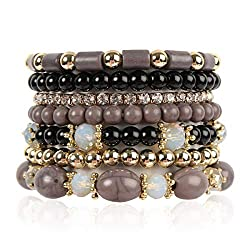 Multi Layer Bead Bracelet