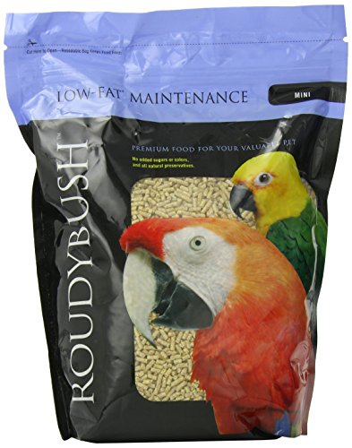 (RoudyBush Low Fat Bird Food, Mini, 44-Ounce)