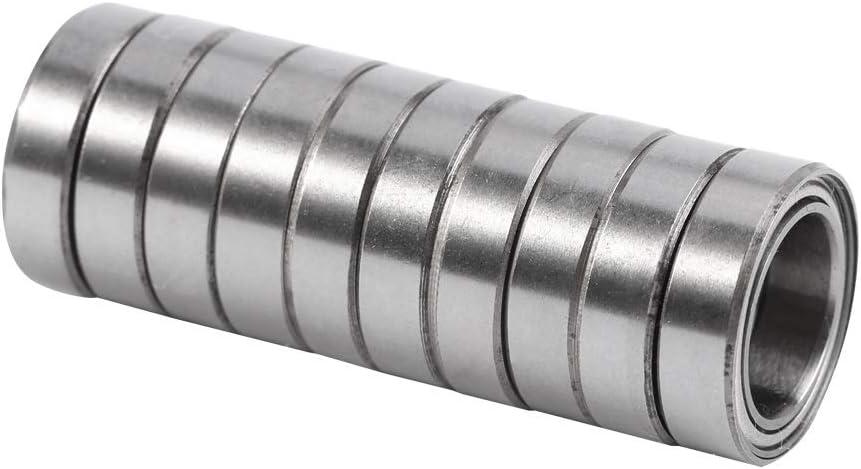 15 4mm 10pcs 6700ZZ Double-shielded Thin Section Thin-wall Ball Bearings Miniature Bearing 10 Thin Wall Bearing