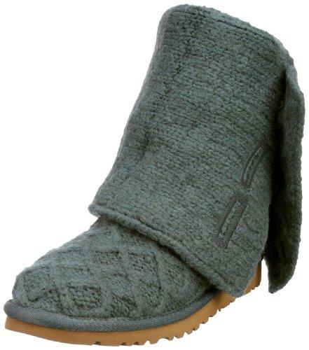 UGG Australia Women's Lattice Cardy Boots Olive Size 7