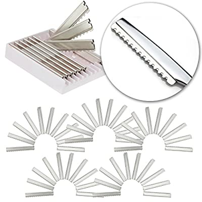 Tools Set for Professional Barbers Hairdressers With 50pcs Stainless Steel Replacement Razor Blades for Hair Thinning Razor for Haircuts Layers Cutting Cuts and Hairstyling