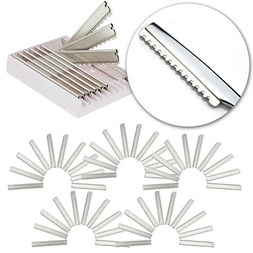 (Tools Set for Professional Barbers Hairdressers with 50pcs Stainless Steel Replacement Razor Blades for Hair Thinning Razor for Haircuts Layers Cutting Cuts and Hairstyling)