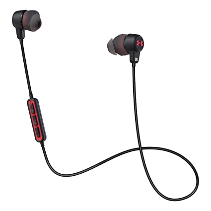 755aa603c0f Amazon.com: JBL Under Armour Wireless Headphones, One Size, Black: Sports &  Outdoors