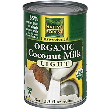 Amazon.com: Native Forest Organic Light Coconut Milk, 13.5 Ounce (Pack of 36): Cell Phones & Accessories