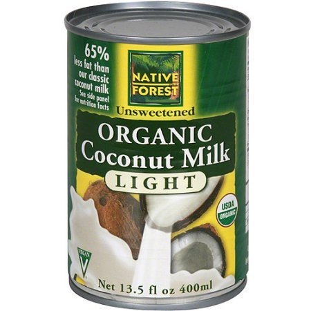 Native Forest Organic Light Coconut Milk, 13.5 Ounce (Pack of 24) by Native Forest