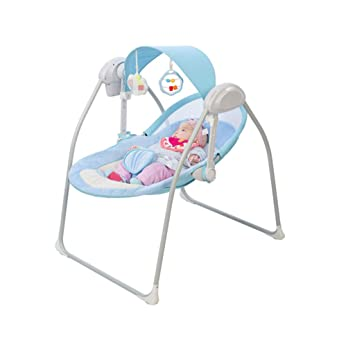 Surprising Amazon Com Electric Baby Cradle Bed Automatic Baby Caraccident5 Cool Chair Designs And Ideas Caraccident5Info