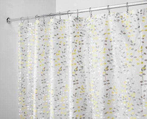 mDesign Shower Curtain Resistant Repellent