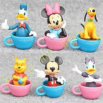 Amazon.com: VIDANQE 6 piezas de decoración para tarta con ...
