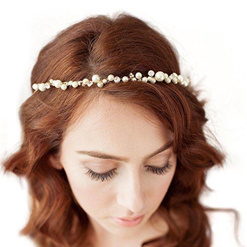 Azaleas Wedding Hairband Hair Pin Accessory Bridal Hair Vine Ribbon Headband (HP03)