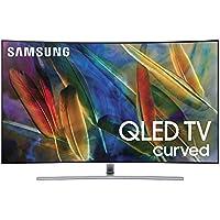 Samsung Electronics QN65Q7C Curved 65-Inch 4K Ultra HD Smart QLED TV (2017 Model) (Certified Refurbished)