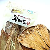 Dried Pollack Whole Size 70g x 3 count, Product of Korea