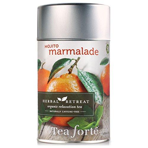 Tea Forte Herbal Retreat MOJITO MARMALADE Loose Leaf Organic Herbal Tea, 2.82 Ounce Tea Tin -  0066319915196