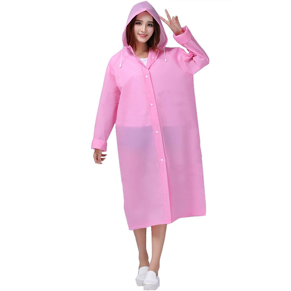 Raincoat,YOBOKO EVA Rain Cape Unisex Rain Poncho