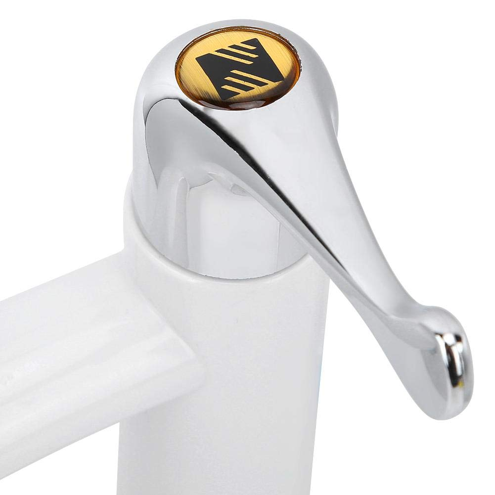 2 Famus Grifo del Lavabo del hogar Grifo Simple del Lavabo Grifo de Lavabo Herramienta G1