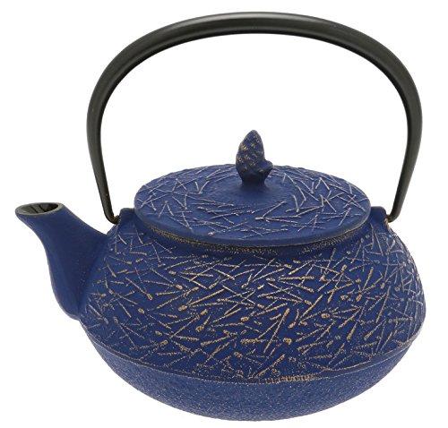 Iwachu 480-967 Japanese Iron Tetsubin Teapot, Europa Blue ()