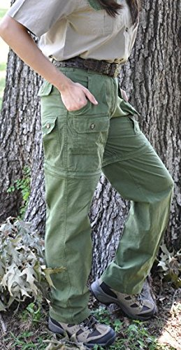 Convertible Pants for Women-Mid Rise Waist free shipping