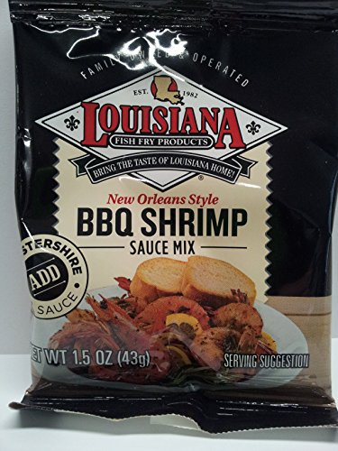 Louisiana Fish Fry BBQ Shrimp Sauce Mix Bbq Shrimp