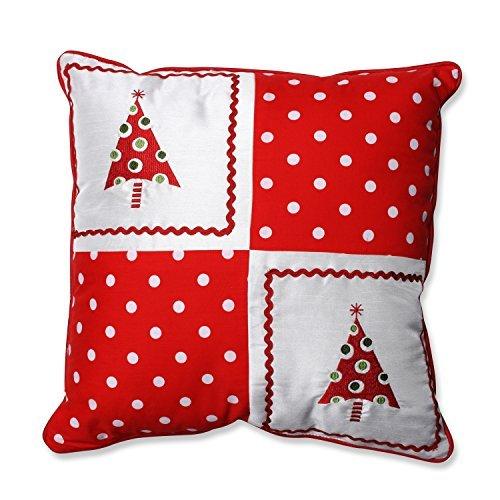 Pillow Perfect Christmas Trees Throw Pillow 16.5