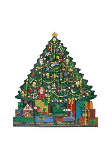 Byers' Choice Christmas Tree Advent Calendar #AC02 from The Advent Calendars Collection]()