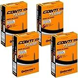 4 本セット コンチネンタル(Continental) チューブ Race28 700×20-25C(仏式42mm) [並行輸入品]