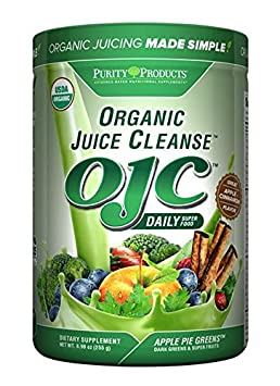 Certified Organic Juice Cleanse – OJC – Apple Pie Greens – 8.99 oz – 255 g from Purity Products