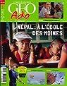GEO ADO, numero 120, Fevrier 2013, Nepal, A l'Ecole des Moines par Géo Ado