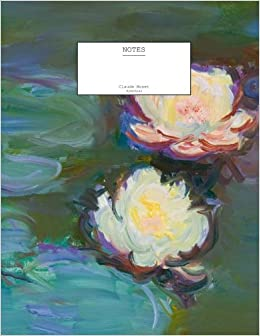 claude monet nympheas notebook 5 x 8 104 pages decorative notebook appreciation journal personal diary volume 1