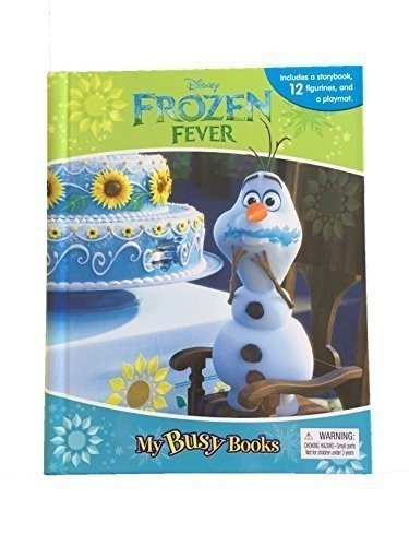 Disney Frozen Fever My Busy Book With Figurines and Playmat