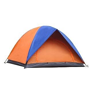 Tenda esterna doppia da viaggio per il tempo libero da viaggio doppia porta 2 persone