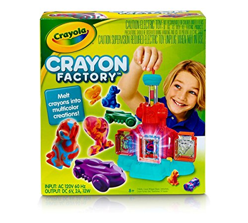 Crayola Crayon Factory; Art Tool; Electronic; Melt and Mold Crayon Bits into Custom Creations - coolthings.us
