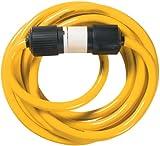 Yellow Jacket 1381 10/4 Heavy-Duty STW 20-Amp/250-Volt  L14-30 Generator Power Cord, 25-Feet