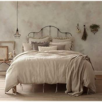 Amazon Com Wamsutta Vintage Washed Linen Full Queen Size