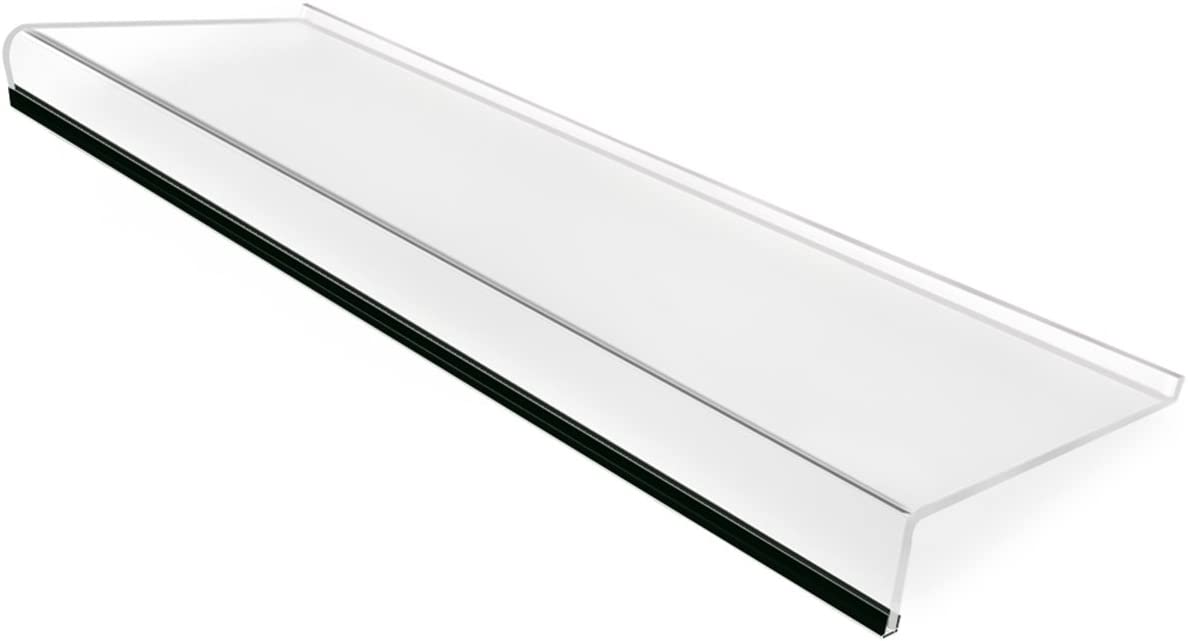Keyboard Stand for Office Desk, 5mm Thickness Premium Acrylic Keyboard Riser Ticker Than Others, Ergonomic Tilted Computer Keyboard Holder for Home Table with Scratch-Free Protection - SupperAcrylic
