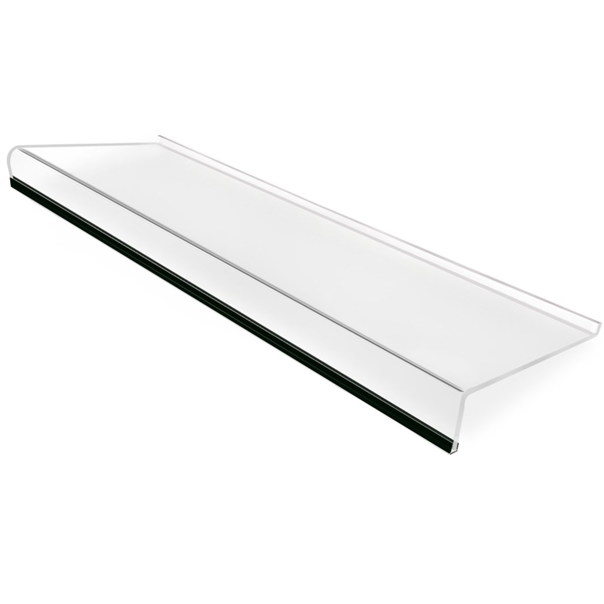 SupperAcrylic Keyboard Stand For Office Desk, 5mm Thickness Premium Acrylic Keyboard Riser Ticker Than Others, Ergonomic Tilted Computer Keyboard Holder For Home Table With Scratch-Free Protection