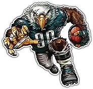 Philadelphia Eagles NFL Mascot Car Bumper Sticker Decal 5'