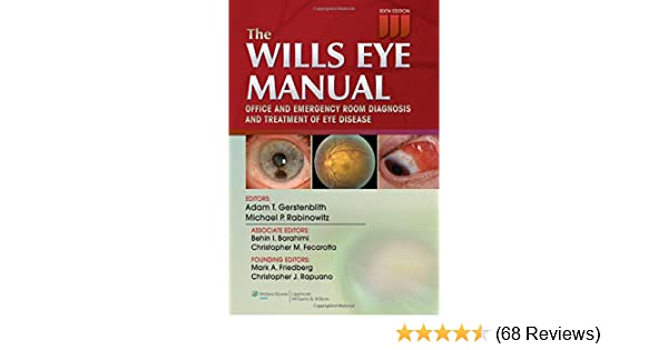 the wills eye manual office and emergency room diagnosis and rh amazon com Wills Eye Emergency Room Wills Eye 5 Minute Clinical Consult