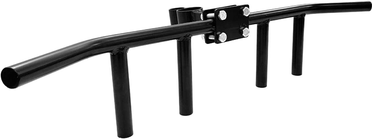 TnP Distribution Solid Landmine Multi Grip Handle T Bar Row Barbell 1 and Olympic 2 Bar Back Gym Attachment Grappler Lat Blaster Bar Handle Rowing Back Attachment