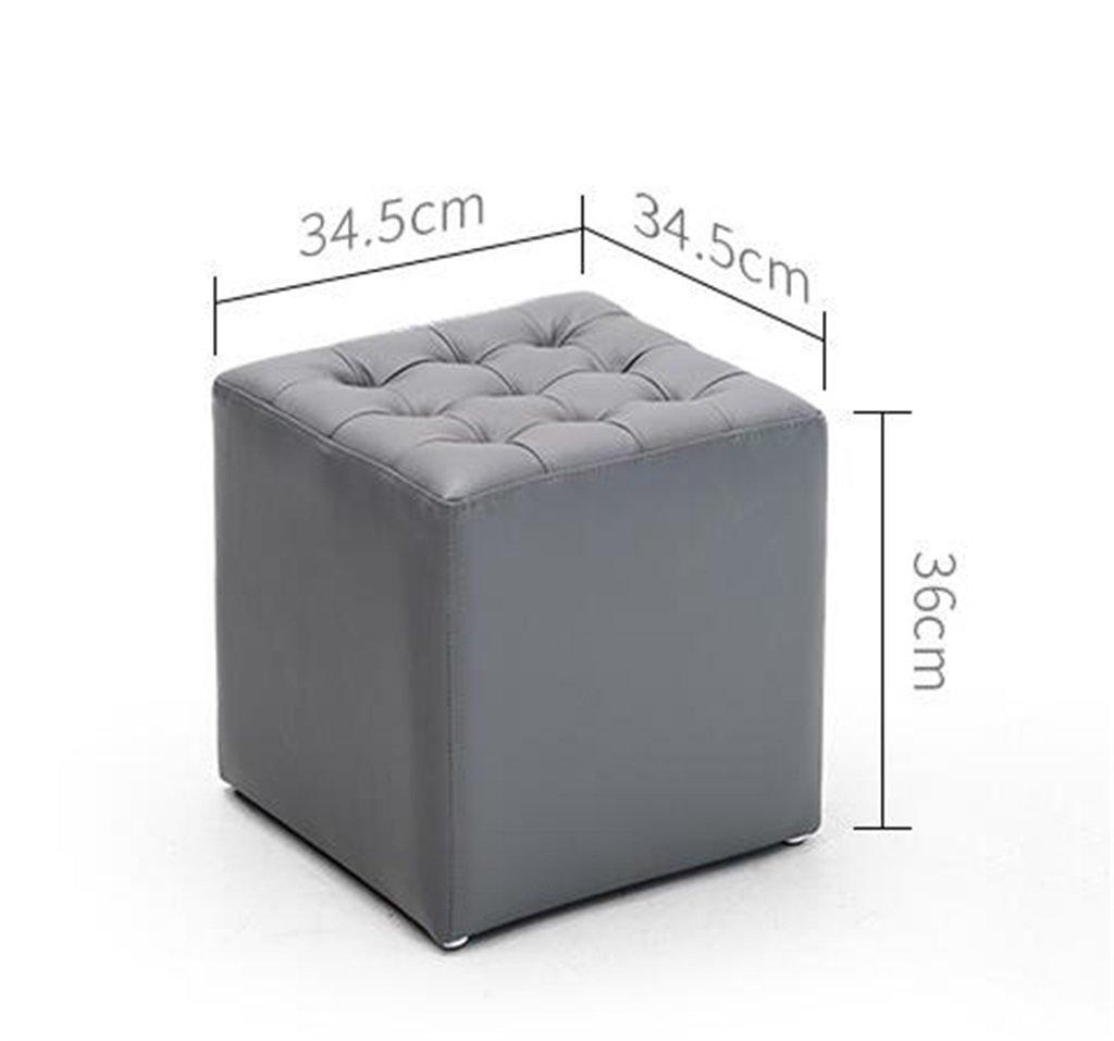 Amazon.de: ZRXian-Fußbänke Luxus Komfortable PU Fußbank | Wohnzimmer ...