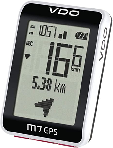 VDO M7 Ciclocomputador con Altímetro Bicicleta Velocímetro GPS ...