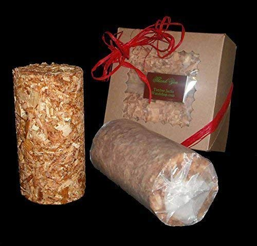 Deluxe Scented Fire Starter Logs NATURAL CEDAR