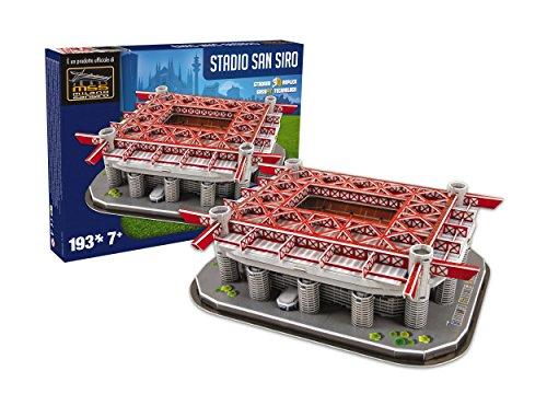 Giochi Preziosi Nanostad Puzzle 3d Stadio San Siro Inter