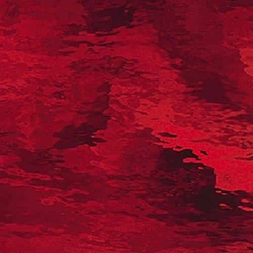 """Spectrum Ruby Red Waterglass Sheet - 8"""" X 10"""" (.56sf) By Stallings Stained Glass"""