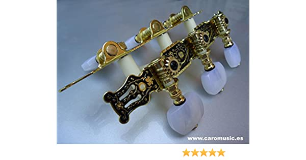 Clavijeros para Guitarra clásica o flamenca: Amazon.es: Instrumentos musicales