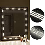 Mirror Light Kit LinkStyle 10FT Vanity Make-up Light DIY LED Light Kits Dressing Mirror Light Kit Mirror Lamp Kit for Cosmetic Makeup Vanity, 60LEDs Light with Remote Controller