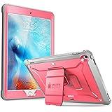 SUPCASE iPadCase 2018/2017,HeavyDuty[UnicornBeetlePROSeries]Full-bodyRuggedProtectiveCasewithBuilt-inScreenProtector&DualLayerDesignforAppleiPad9.7inch2017/2018 (Pink)