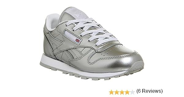 Reebok Classic Leather Metallic, Zapatillas de Running para Niñas ...
